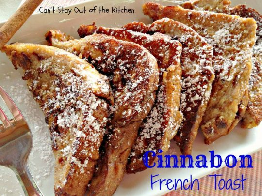 Cinnabon French Toast - IMG_1785