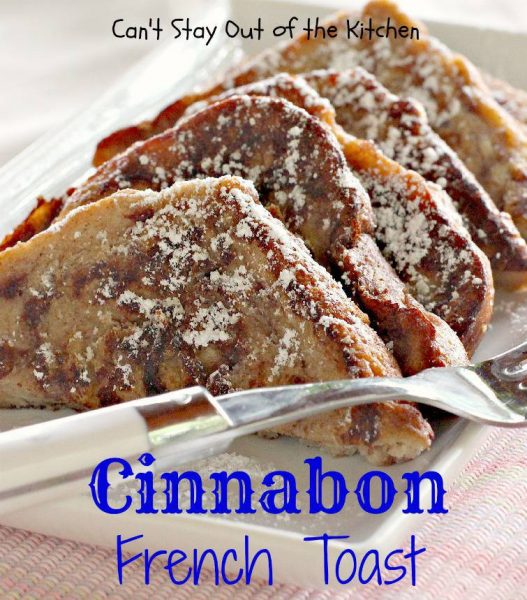 Cinnabon French Toast - IMG_7385