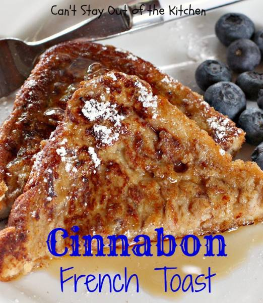 Cinnabon French Toast - IMG_7411