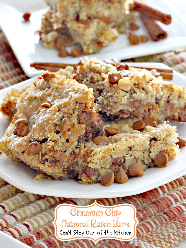 Oatmeal Raisin Walnut Cookies - Can't Stay Out of the Kitchen