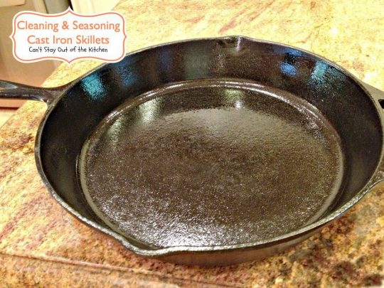 Cleaning and Seasoning Cast Iron Skillets - IMG_7839