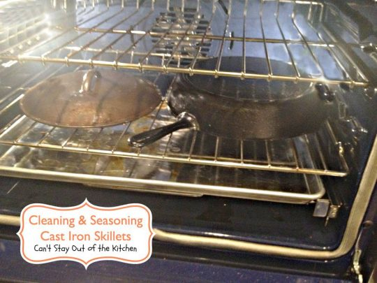 Cleaning and Seasoning Cast Iron Skillets - Recipe Pix 5 212