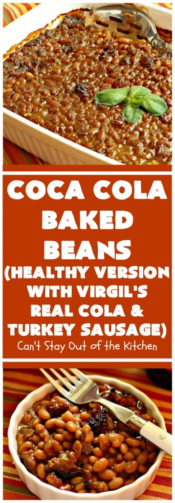 Coca Cola Baked Beans | Can't Stay Out of the Kitchen