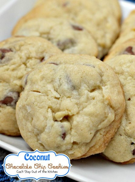 Coconut Chocolate Chip Cookies - IMG_1979