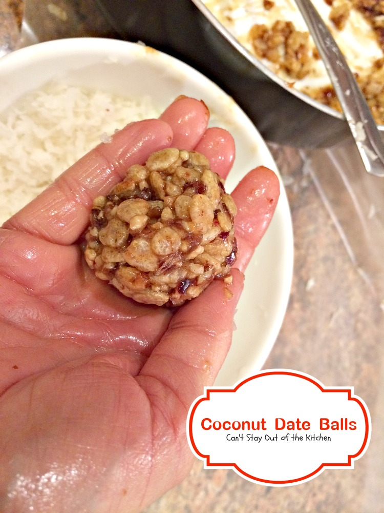 Coconut Date Balls Can T Stay Out Of The Kitchen