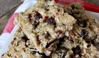 Coconutty Oat Bars