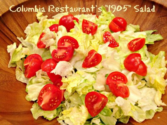 Columbia Restaurant's 1905 Salad - Recipe Pix 23 003