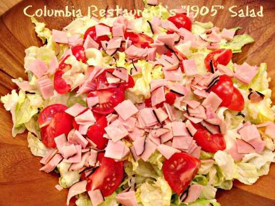 Columbia Restaurant's 1905 Salad - Recipe Pix 23 005