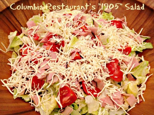 Columbia Restaurant's 1905 Salad - Recipe Pix 23 006