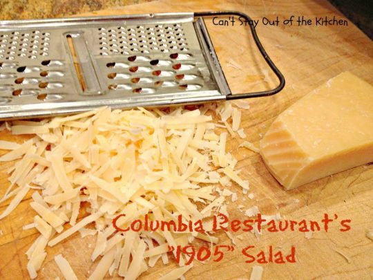 Columbia Restaurant's 1905 Salad - Recipe Pix 23 015