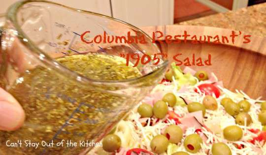 Columbia Restaurant's 1905 Salad - Recipe Pix 23 017