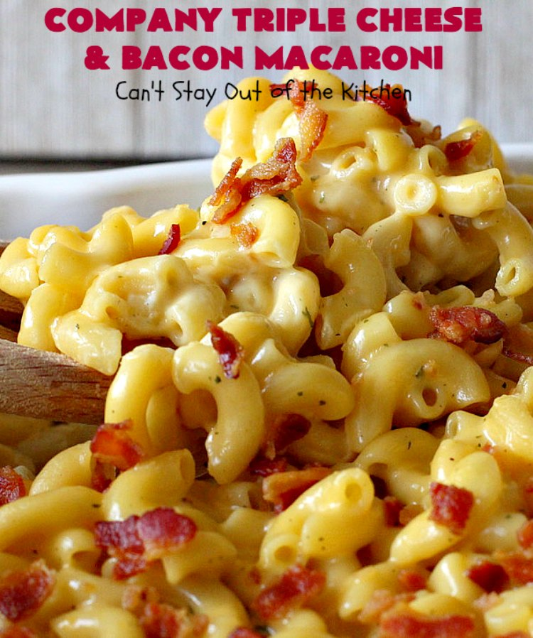 Company Triple Cheese and Bacon Macaroni