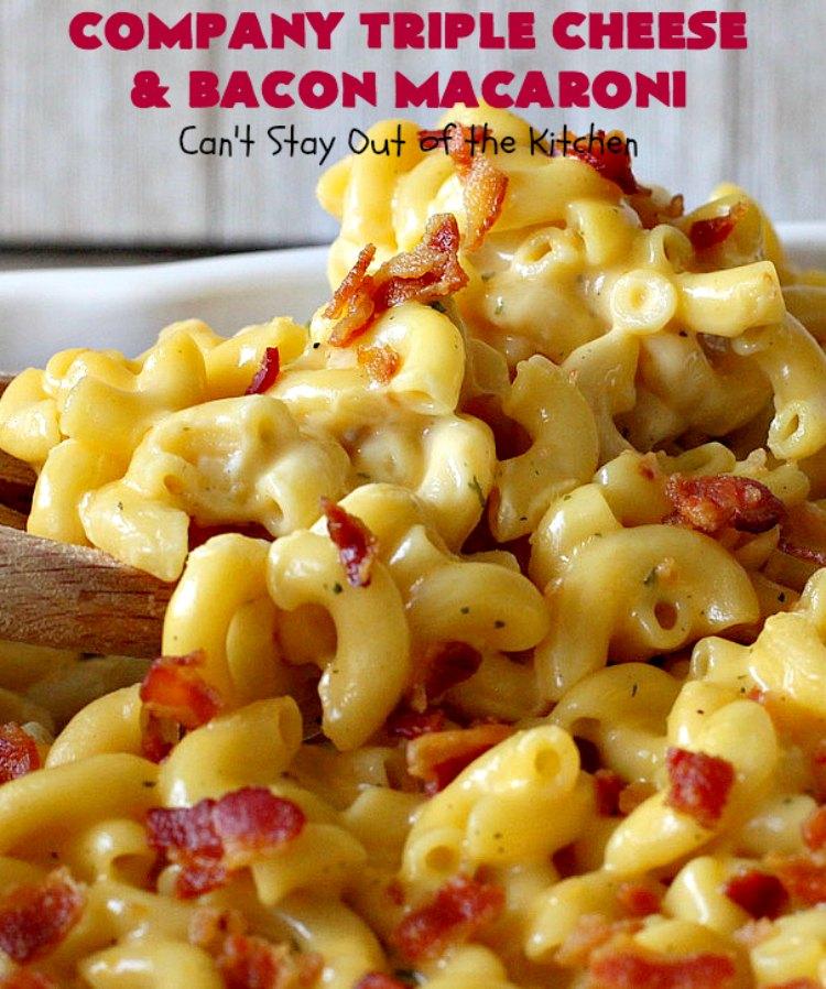Company Triple Cheese and Bacon Macaroni