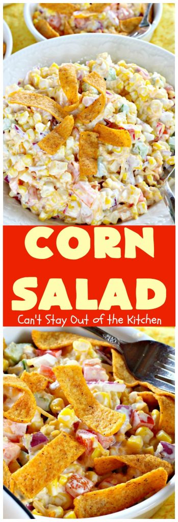 Corn Salad | Can't Stay Out of the Kitchen