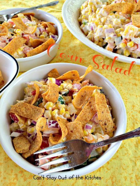 Corn Salad Dip | Can't Stay Out of the Kitchen
