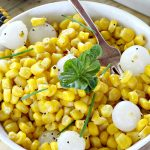Corn and Pearl Onions   Can't Stay Out of the Kitchen
