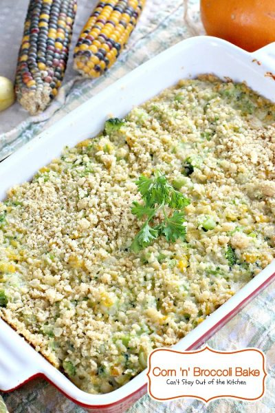 Corn 'n' Broccoli Bake - IMG_1121