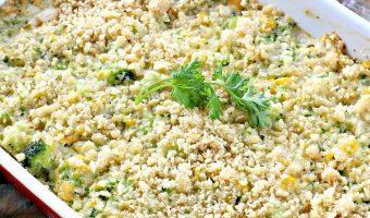 Corn 'n' Broccoli Bake
