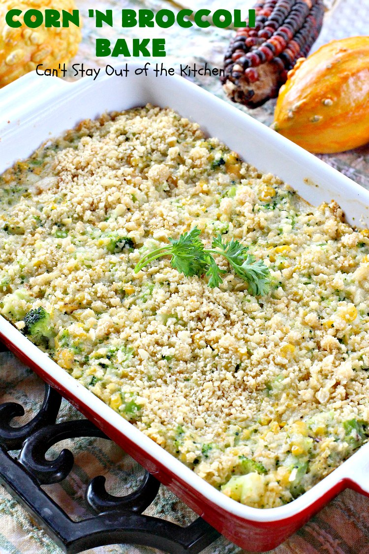 Corn 'n' Broccoli Bake