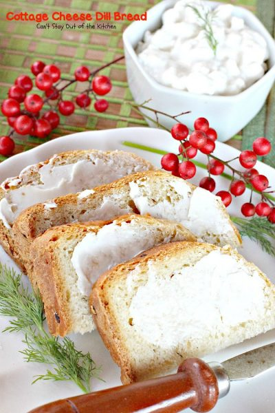 Cottage Cheese Dill Bread | Can't Stay Out of the Kitchen