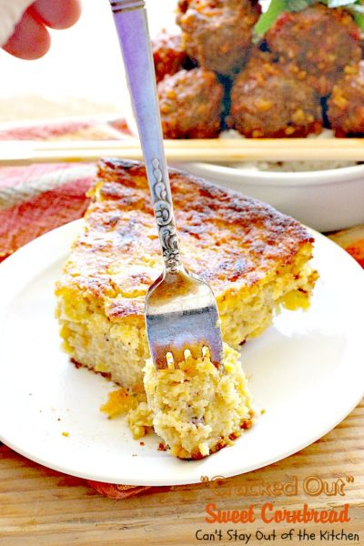 """Cracked Out"" Sweet Cornbread 