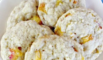 Cracked Peach Cookies