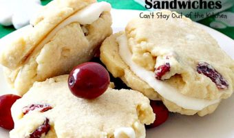 Cranberry Lemon Sandwiches