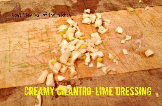 Creamy Cilantro-Lime Dressing - IMG_7725