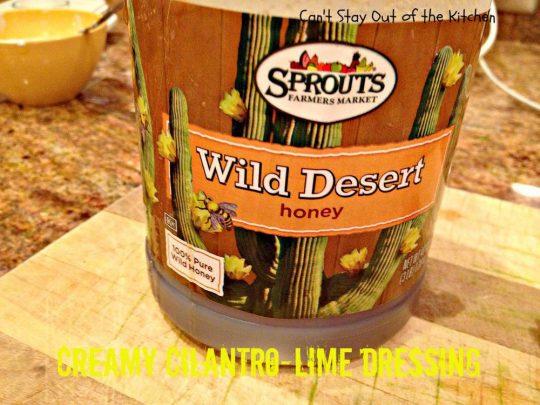 Creamy Cilantro-Lime Dressing - IMG_7727