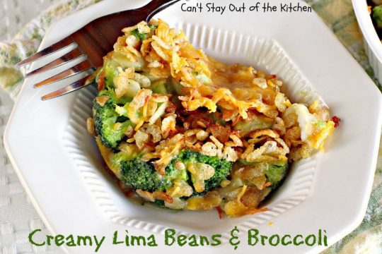 Creamy Lima Beans and Broccoli - IMG_7284