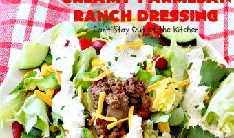 Creamy Parmesan Ranch Dressing