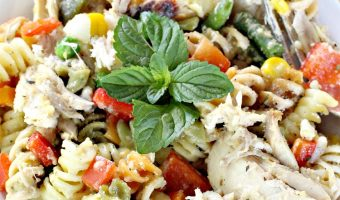 Creamy Scalloped Chicken and Vegetables