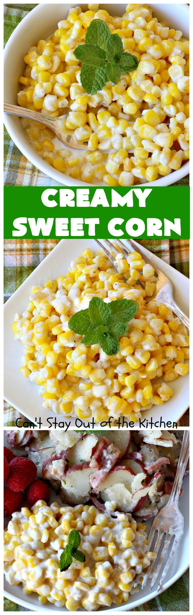 Creamy Sweet Corn | Can't Stay Out of the Kitchen