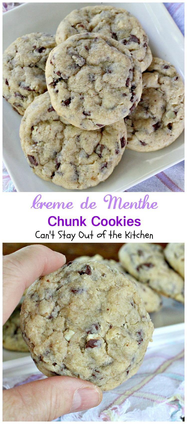Creme de mint cookies recipes