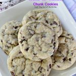 Creme de Menthe Chunk Cookies | Can't Stay Out of the Kitchen