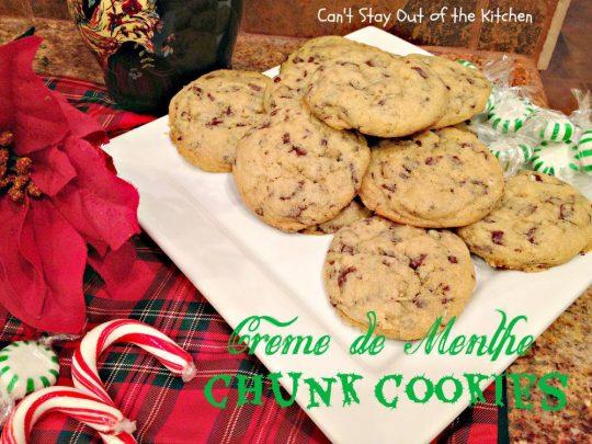 Creme de Menthe Chunk Cookies - Recipe Pix 14 722