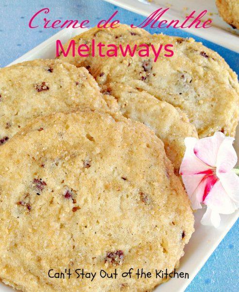 Creme de Menthe Meltaways - IMG_0872