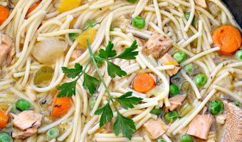 Crockpot Gluten Free Turkey Noodle Soup