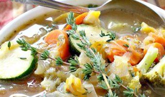 Crockpot Spaghetti Squash Soup
