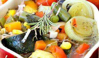 Crockpot Turkey Vegetable Soup