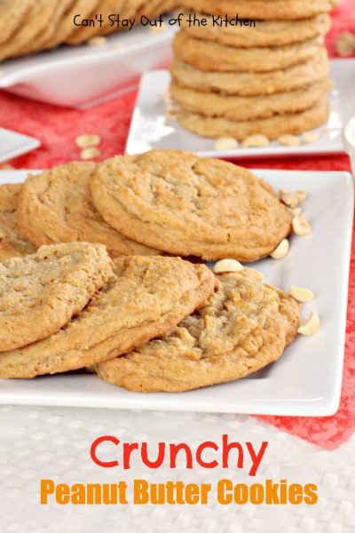 Crunchy Peanut Butter Cookies - IMG_1192