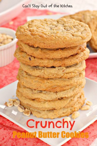 Crunchy Peanut Butter Cookies - IMG_1221