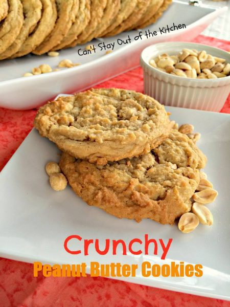 Crunchy Peanut Butter Cookies - IMG_5606
