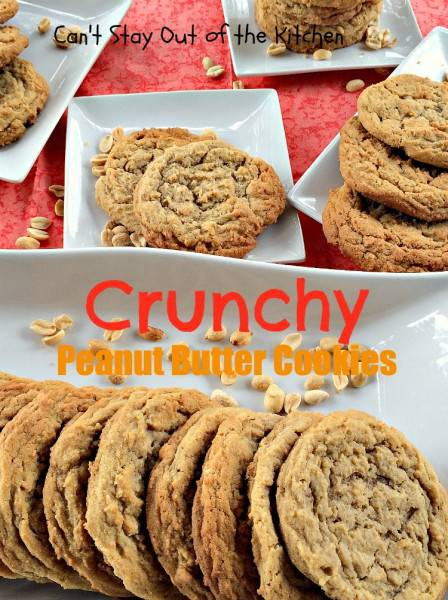 Crunchy Peanut Butter Cookies - IMG_5618
