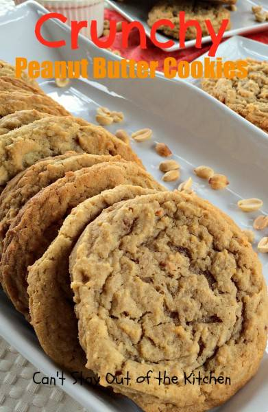 Crunchy Peanut Butter Cookies - IMG_5622