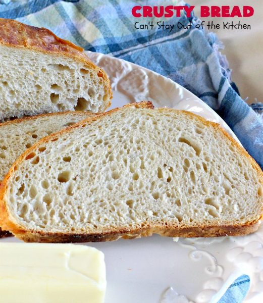 """Crusty Bread 