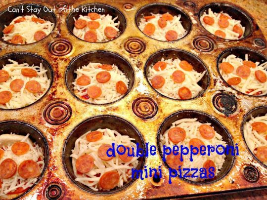 Double Pepperoni Mini Pizzas - IMG_8658.jpg