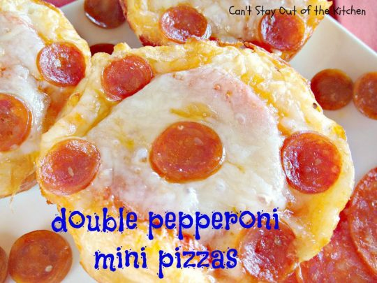 Double Pepperoni Mini Pizzas - IMG_8696.jpg