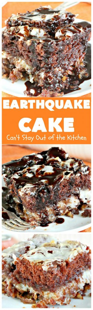 Earthquake Cake | Can't Stay Out of the Kitchen