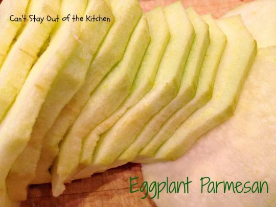Eggplant Parmesan - IMG_1983